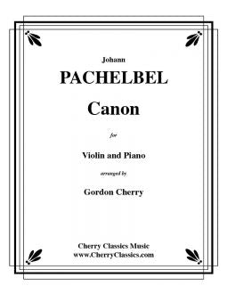 Pachelbel – Canon in D for Violin and Piano