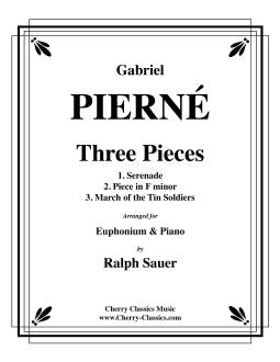 Pierné – Three Pieces for Euphonium and Piano