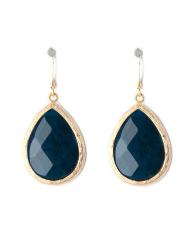Medium Stone Drop Earrings