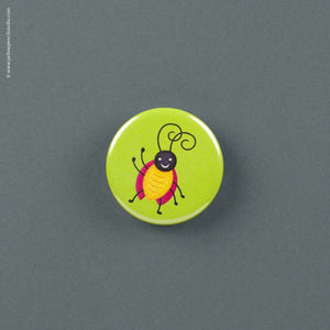 Friendly Bug Magnet - Yellow Pencil Studio