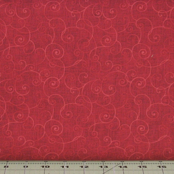 Whimsy Basics in Red Tonal Blender by Color Principle for Henry Glass Fabrics, 8945-88