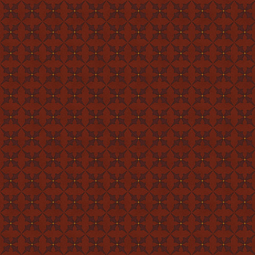 Trumpet Flowers in Red from the Wit and Wisdom Collection by Kim Diehl for Henry Glass Fabrics, 1427-88