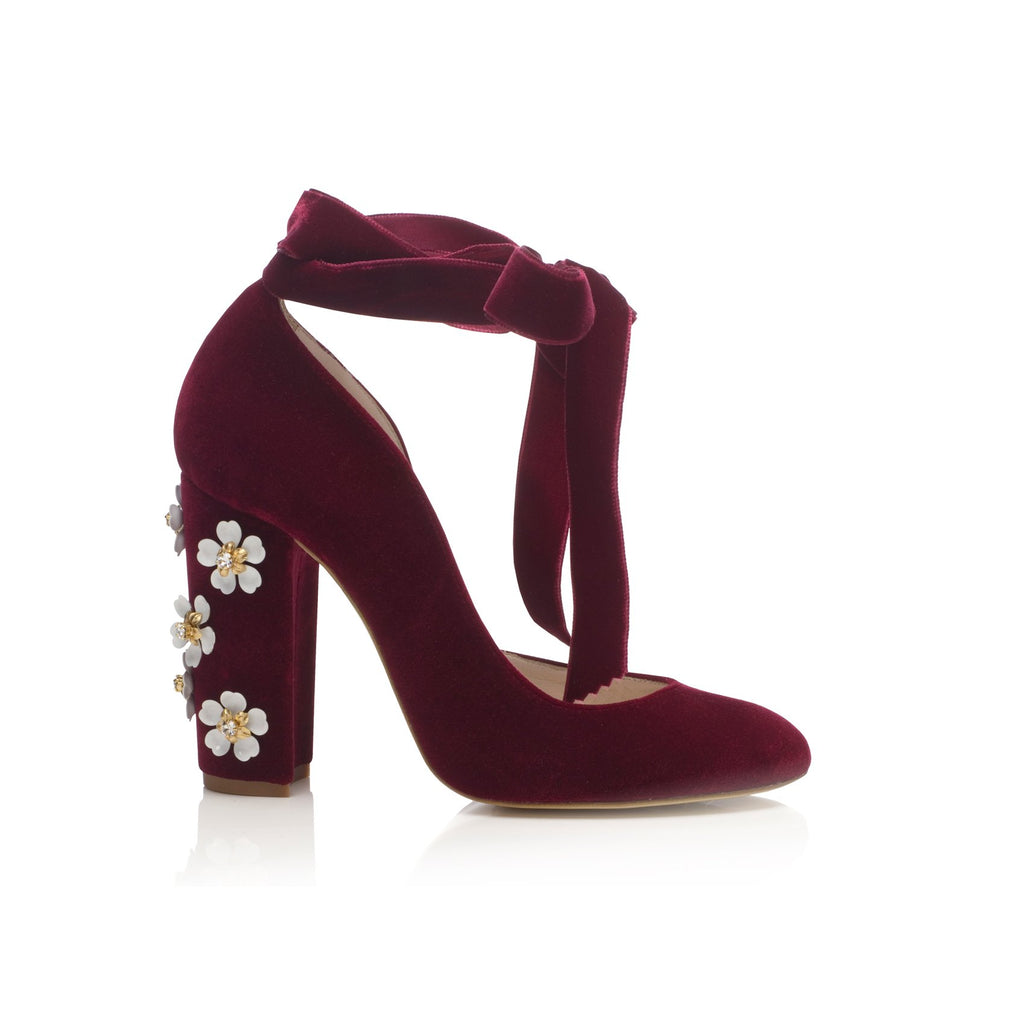 Hetty Bordo Floral