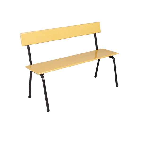 Hedcor bench with backrest