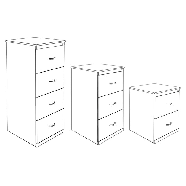 Hedcor filing drawers