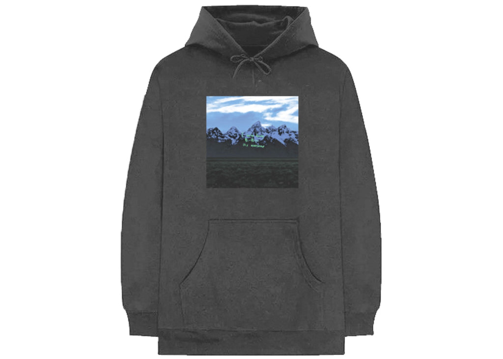 Kanye West Ye Album Listening Brooklyn Hoodie BLACK