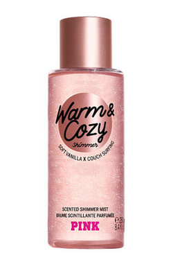 Victoria's Secret Warm & Cozy Scented Shimmer Mist | BeeBabe.com