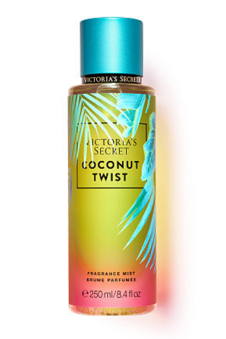 Victoria's Secret Coconut Twist Fragrance Mist | BeeBabe.com