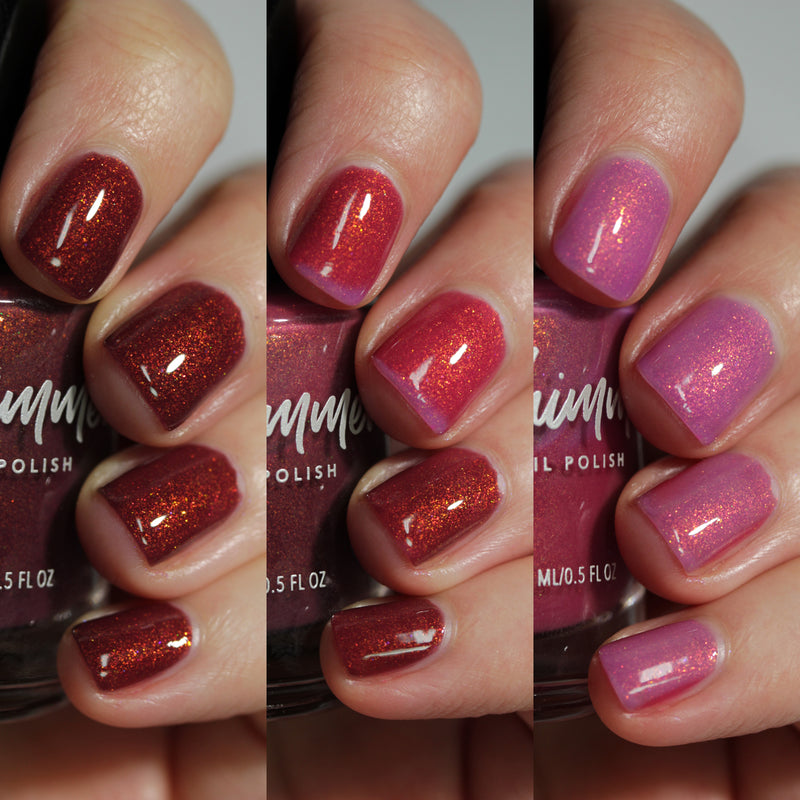 KBShimmer That's Smore Like It tri-thermal nail polish Sun's Out Collection