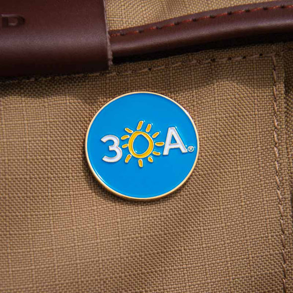 Collectible 30A Lapel Pin