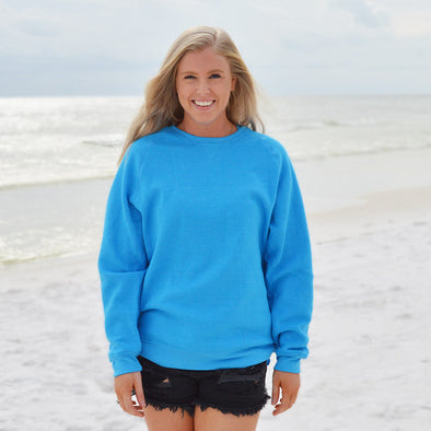 30A Solid Recycled Crew Neck Sweatshirt