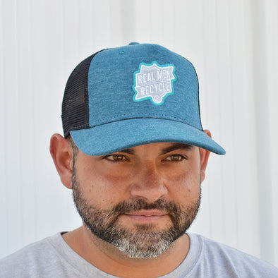 30A Real Men Recycle Trucker Hat