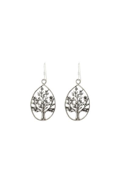 Teardrop Tree Earrings