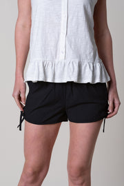 Curtisknowle Tie Shorts In Anthracite
