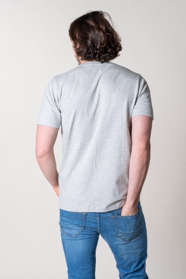 Hope Graphic T-Shirt In Grey Marl