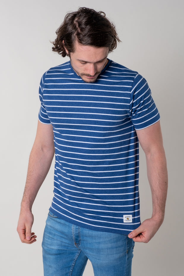 Morleigh Stripe T-Shirt In Blue