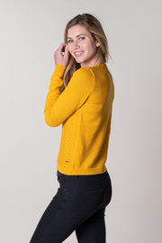 Didworthy Knit Crew In Ochre