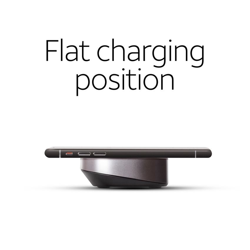 15W Wireless Charging Pad with QC 3.0 Rapid Charger