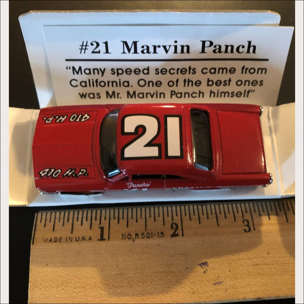 1991 Racing Collectibles - Legend Series - #21 Marvin Panch NASCAR -  Limited Edition