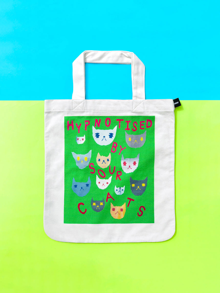 AWW x An Gee Chan Tote Bag: Hypnotised by Sour Cats