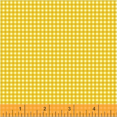 Trixie Gingham in Gold
