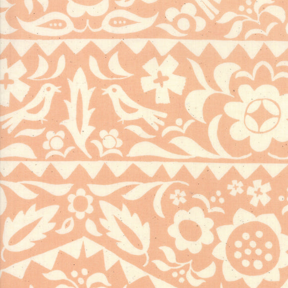 RS4001 18 Alma Market Floral in Peach by Alexia Marcelle Abegg for Ruby Star Society from Pink Castle Fabrics