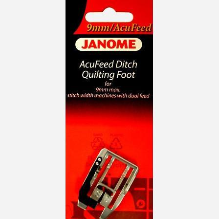 Acufeed Ditch Quilting Foot (202103006)