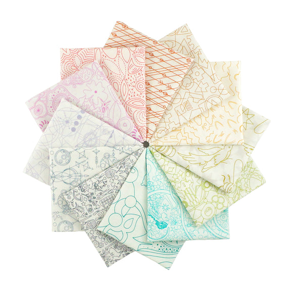 Sun Print Light - Fat Quarter Bundle