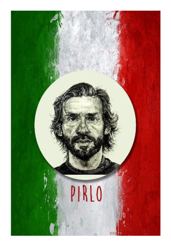 Wall Art, Andrea Pirlo Wall Art | Artist: Pushkar Priyadarshi, - PosterGully