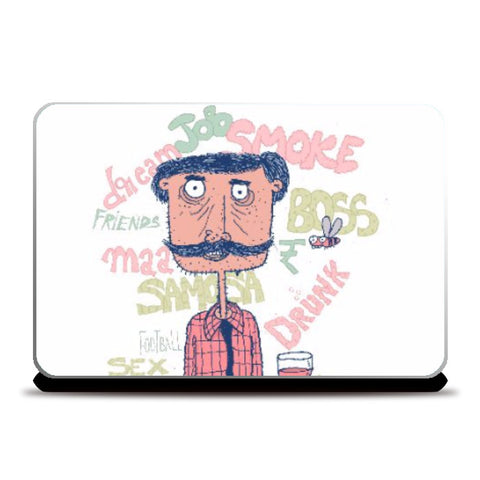 Laptop Skins, The guy Laptop skin | Artist: Aroop Mishra, - PosterGully