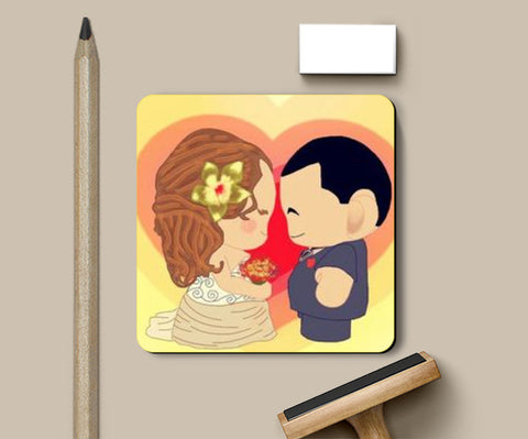 Coasters, Couple Coaster | Artist : Divakar Singh, - PosterGully