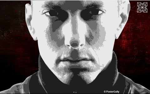 Wall Art, Eminem Artwork | Artist: Shaurya Vardhan, - PosterGully - 1