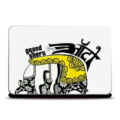 Grand Theft Auto Laptop Skins | Artist : the unskilled artist