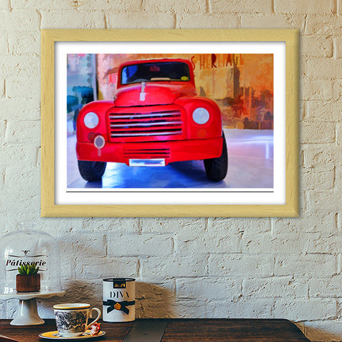 Old is gold Premium Italian Wooden Frames | Artist : Anil Kumar K