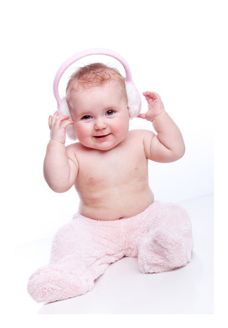 Baby Headphone  Wall Art | Artist : Creative DJ