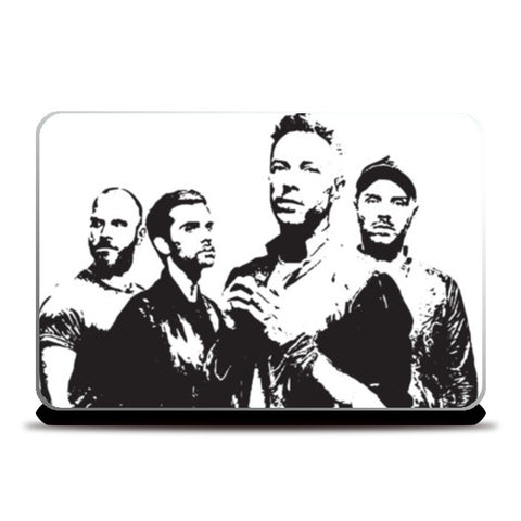 COLDPLAY BAND Laptop Skins | Artist : Kau.Vish