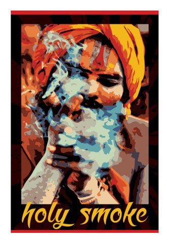 Wall Art, holy smoke Wall Art | Artist : Boys Theory, - PosterGully