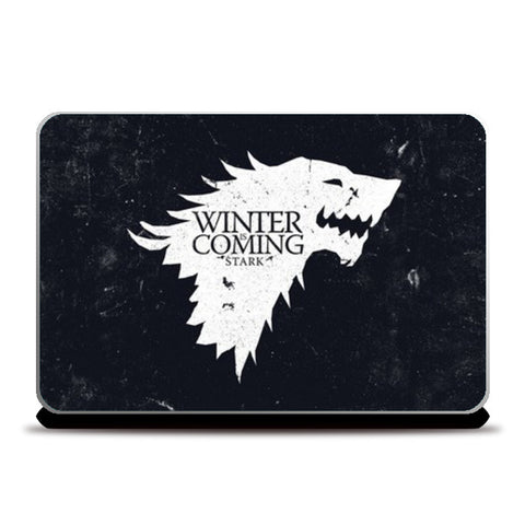 Winter Is Coming Laptop Skins | Artist : Navdeep Sharma | Special Deal - Size 17