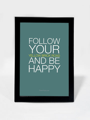 Framed Art, Be Happy. | Framed Art, - PosterGully