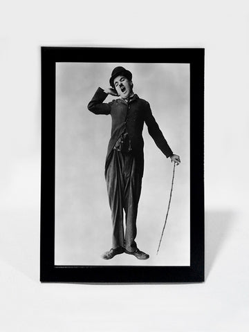 Framed Art, Charlie Chaplin in The Tramp | Framed Art, - PosterGully
