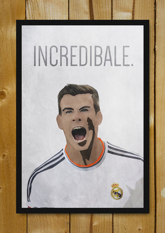 Glass Framed Posters, Incredible Gareth Bale  Real Madrid  Glass Framed Poster, - PosterGully - 1
