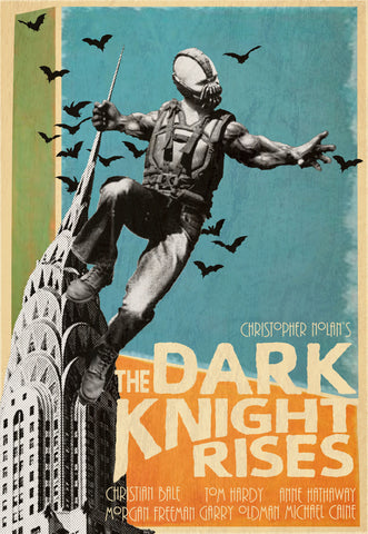 PosterGully Specials, Nolan's Dark Knight Rises, - PosterGully