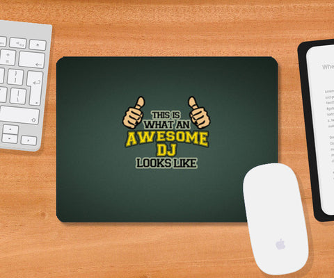 Mousepad, Awesome DJ - Mousepad, - PosterGully