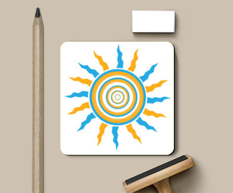PosterGully Coasters, sun Coaster Coasters | Artist : vazir singh, - PosterGully