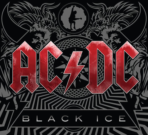 PosterGully Specials, AC/DC | Black Ice, - PosterGully