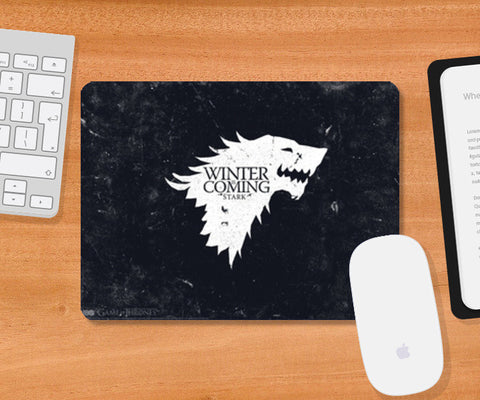 Winter Is Coming Mousepad | Artist : Navdeep Sharma