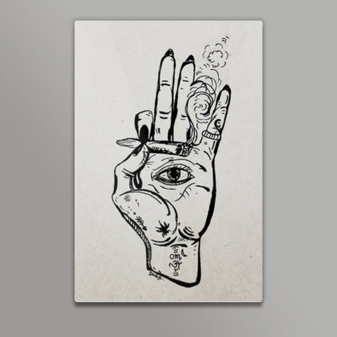 jai sambo Metal Prints | Artist : the scribble stories