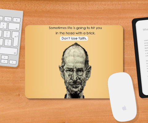 Mousepad, Steve Jobs Mousepad | Artist Name: Pushkar Priyadarshi, - PosterGully