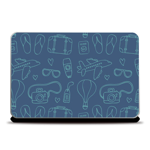 Sketchy Travel Laptop Skins | Artist : Colour me expressive
