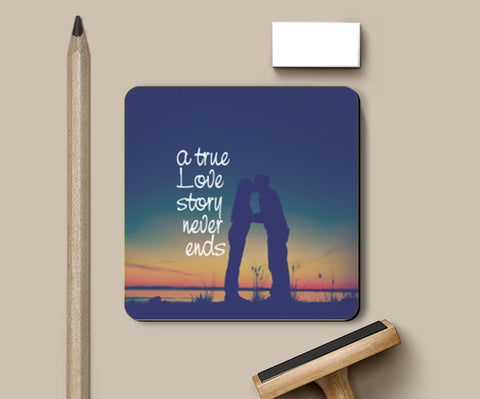 A True Love Story Coasters | Artist : Abhishek Bhardwaj